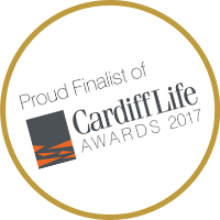 Cardiff Life Awards 2017 finalist