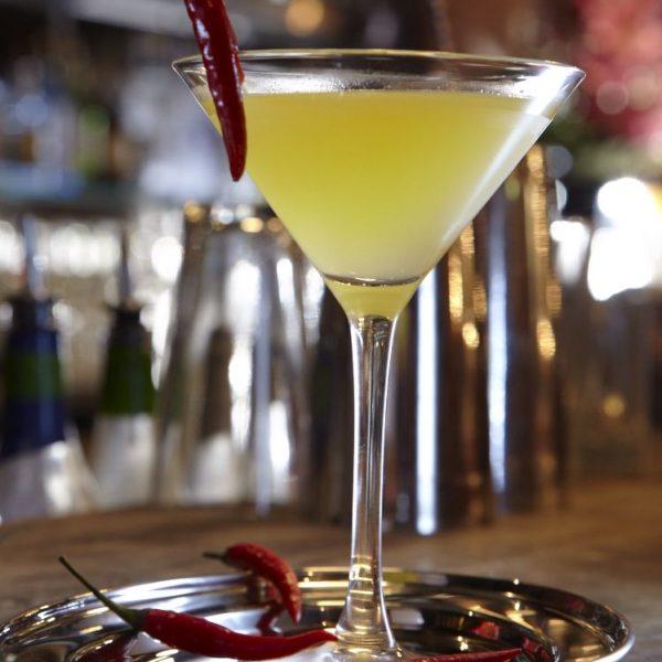 Mango and Chilli Martini