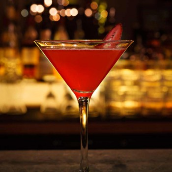 Strawberry & Black Pepper Martini