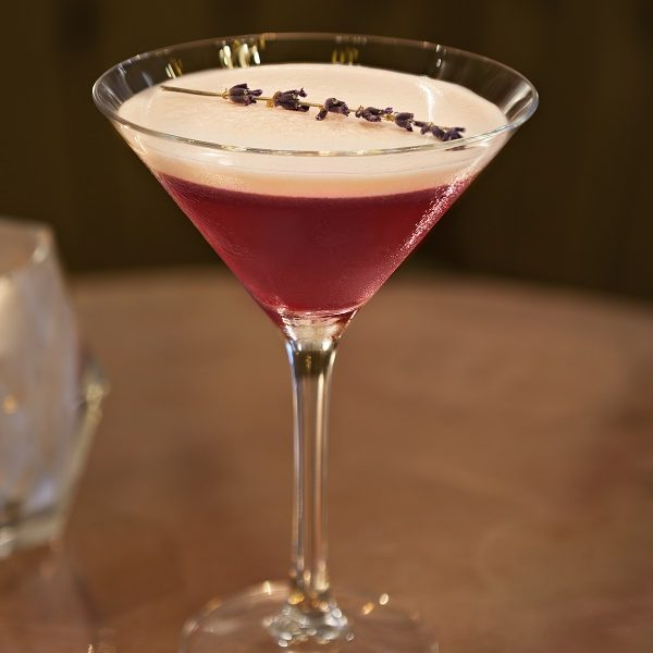 Elderberry Martini
