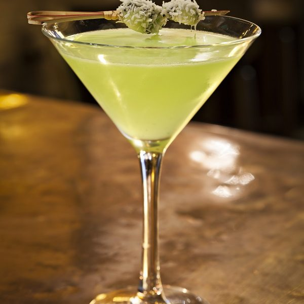 Kiwi & Coconut Martini