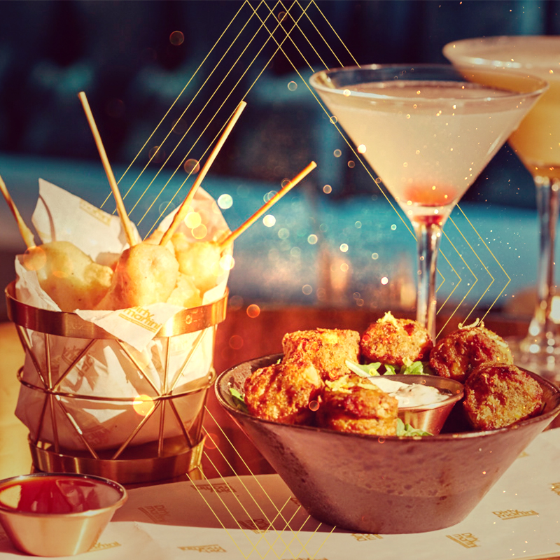 Say hello to our new food menu   Dirty Martini