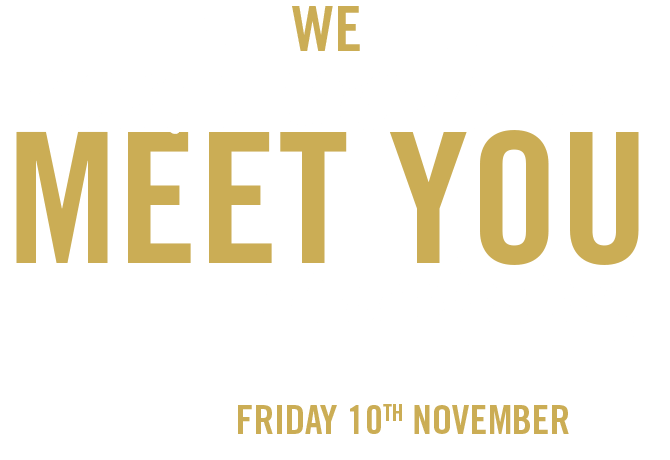 We can't wait to meet you, Manchester x