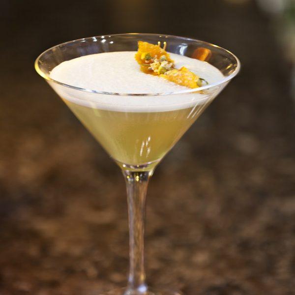 Solerno & Dandelion Martini