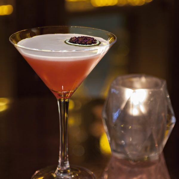 Strawberry & Pink Peppercorn Martini