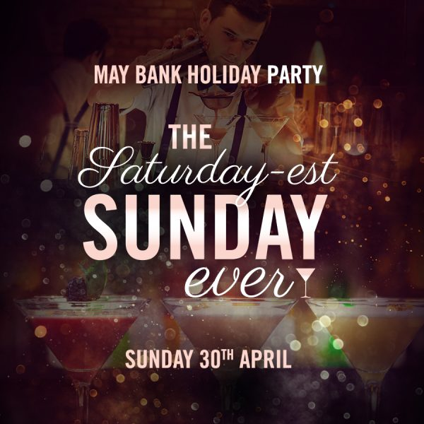 May Bank Holiday Party featured image