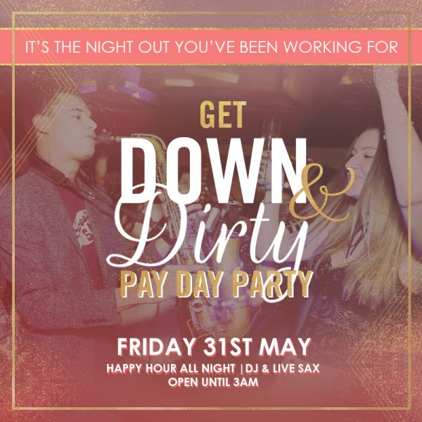 Payday party May featured image